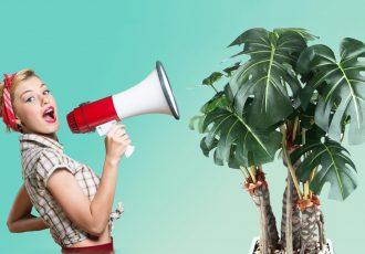 Parlare alle piante fa bene?
