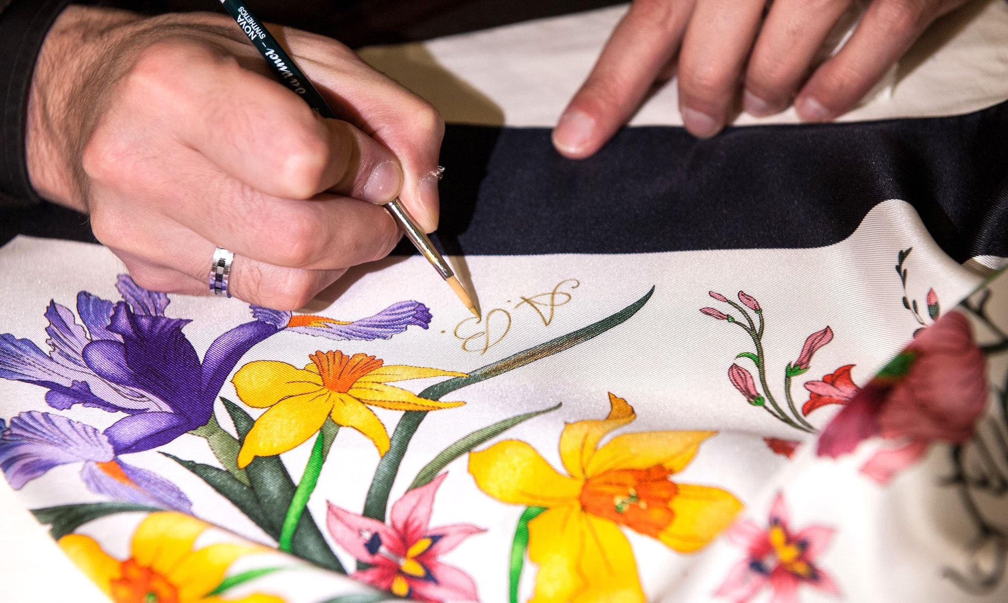 Foulard Flora di Gucci - La storia