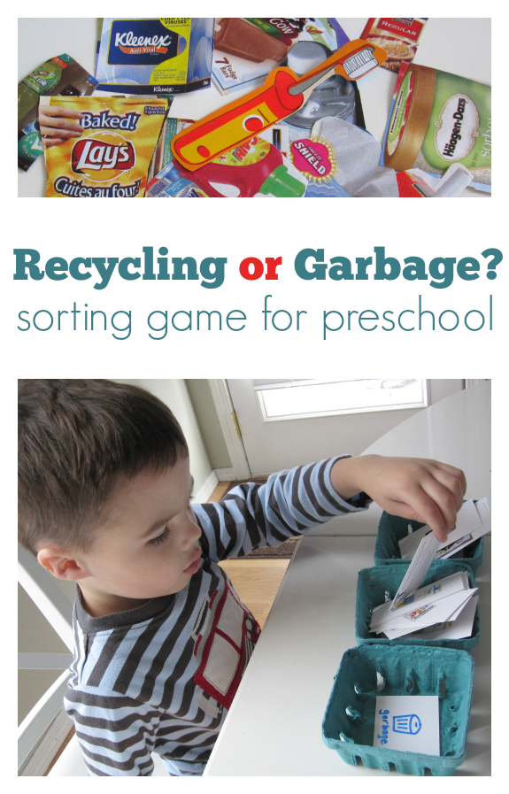 SORT THE RECYCLING GAME