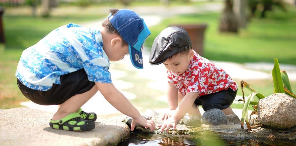i vantaggi dell'educazione ambientale nel bambino